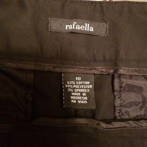 Rafaella Pants - Black capris